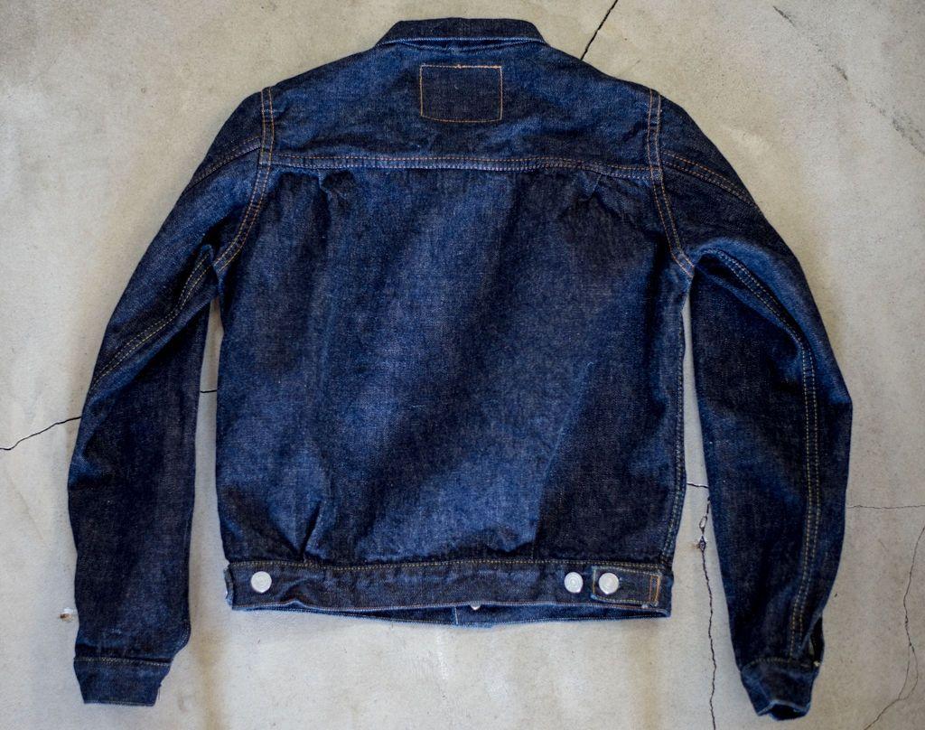 Tcb50sboysjk 50s 2nd Type Boys Denim Jacket