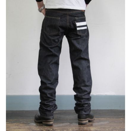 1101SP ' Going to Battle Label ' 10oz selvedge middle straight
