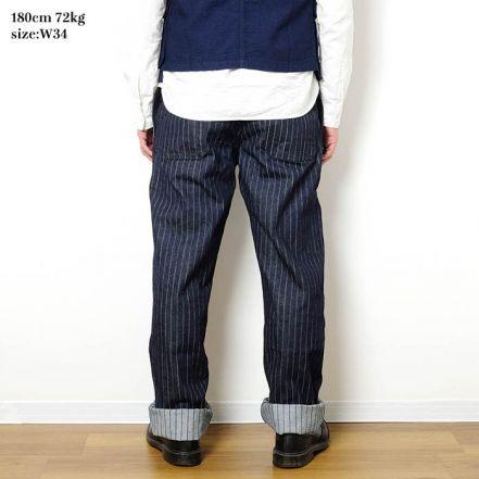 550-00SD 11.5oz Stripe Denim  French Work Pants