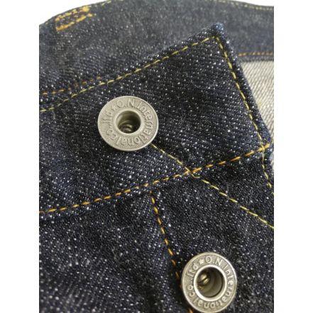 ONI-912HM 14oz Original ONI Fabric Hand-sewn Relax Tapered
