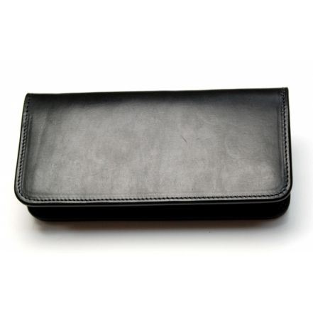 EAW00055AB UK SADDLE LEATHER MIDDLE WALLET (3 COLORS)