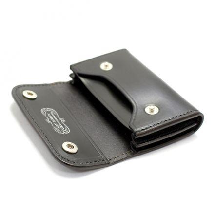ENF00123AB UK saddle leather card case (3 COLORS)