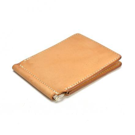 ENW00100AB UK saddle leather money clip