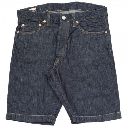 H0205SP ' Going to Battle Label ' 10oz Slim Short Pants (ID)