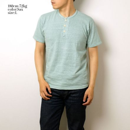 HBP-012 S / S Henley Neck Tee(3 COLORS)