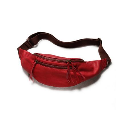 ME627 WATER PROOF WASHABLE LEATHER / DELTA BODY BAG(6 colors)