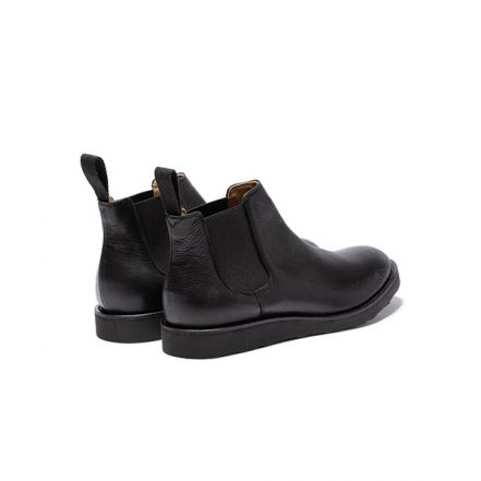 ME829 WATER PROOF SHIRINK LEATHER / BLACK VIBRAM SIDE GORE BOOTS