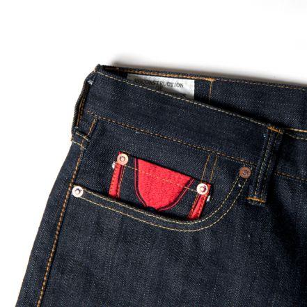 UTJ-001 14.5oz Return of Ultraman jeans tight straight