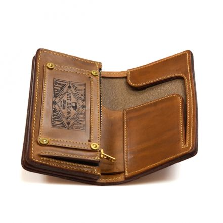 VGW00084AB CHROMEXCEL LEATHER MIDDLE WALLET (3 COLORS)