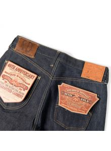 SP-053 15oz 40th suvin gold crazy jeans tight straight