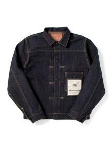 "SP-071 14oz ""Autumn"" 40th Chestnut denim jacket"