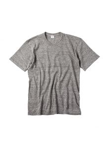 "T161CB029 ""EXCELLENT WEAVE"" LOOPWHEEL T-SHIRT (029 Iron Gray)"