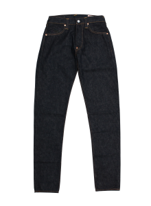 EGD2000ETCRM #2000T 14.5oz No.1 Tapered Fit Jeans (KAMOME/CREAM /TIGER SELVAGE)