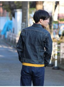 D4128 50's Western denim Jacket